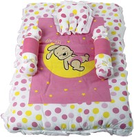 Morisons Baby Dreams Cotton Bedding Set (Pink) - BEDECPWZV9M76JW9