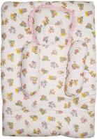 Wonderkids Teddy Print Cotton Bedding Set (Pink)