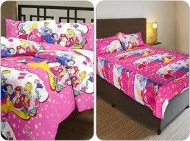richa creation Cotton Bedding Set