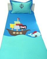 Aiva Little Pipal Pirate Adventure Kids Flat Single Bedsheet