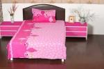 Aalidhra Polyester Silk Blend Animal Single Bedsheet