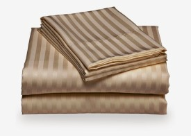 Scalabedding Cotton Striped Single Bedsheet