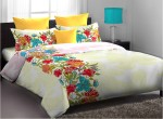 Home Expression Home Expression Cotton Floral Queen Bedsheet