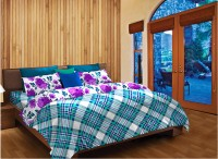 3a339fb22f 17% OFF on Home Expression USA Cotton Checkered Single Bedsheet 1 Pillow  Cover, 1