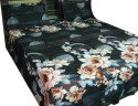 Shilimukh Embroidered Summer Flat Double Bedsheet - BDSDW53KS597QFFG
