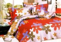 Home Originals Polycotton Floral Double King Bedsheet 1 Double Bedsheet, 2 Pillow Covers, Multicolor