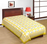 Fab Rajasthan Unique Arts Cotton Printed Single Bedsheet 1 Bedsheet, Multicolor - BDSE7UYQZSFFHG9H