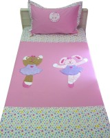 Aiva Little Pipal Born To Dance Kids Flat Single Bedsheet