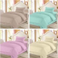 Story @ Home Cotton Printed Single Bedsheet Set Of 4 Double Bedsheet With 4 Pillow Cover, Multicolour