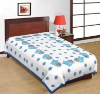 Fab Rajasthan Unique Arts Cotton Printed Single Bedsheet 1 Bedsheet, Multicolor - BDSE7UYQRRJM3MBC