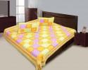 Lali Prints LPB33 Traditional Jaipuri Print Flat Double Bedsheet