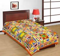 Fab Rajasthan Unique Arts Cotton Printed Single Bedsheet 1 Bedsheet, Multicolor - BDSE7UYQ26ZXDNXA