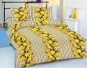 Royal Crust Floral Print Printed Bed Sheet Flat Double Bedsheet