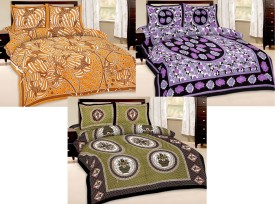 Shop Rajasthan Cotton Printed Double Bedsheet