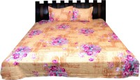 Nathi And Nancy Cotton Floral Double Bedsheet 1 Bed Sheet & 2 Pillow Covers, Multicolor - BDSEK7HUBYHDDUSH