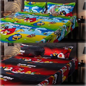 eCraftIndia Cotton, Satin Floral Queen sized Double Bedsheet