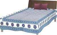 Fab Rajasthan Unique Arts Cotton Printed Single Bedsheet 1 Bedsheet, Multicolor - BDSE7UYQR9ZTJVHR