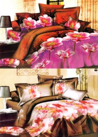 Royal Collection Polycotton Floral Double Bedsheet