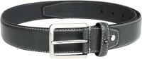 Peter England Men Casual Grey Synthetic Belt Grey