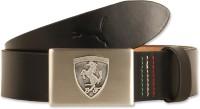 Puma Men Casual Black Genuine Leather Belt 01