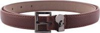 Buckle Up Women Casual Brown Artificial Leather Belt (Brown) - BELE54AXBKFQF5CB