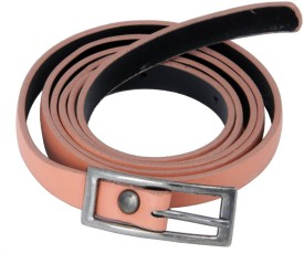 WOAP Girls Casual, Party Pink Artificial Leather Belt