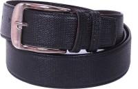 Calibro Men, Boys Formal Black Texas Leatherite Belt Black - BELEBNY2JRYVZ74F