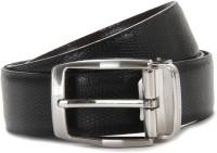 Louis Philippe Men Black, Brown Genuine Leather Reversible Belt Black / Brown