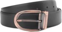 Louis Philippe Men Black, Brown Reversible Belt Black/Brown