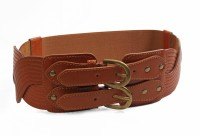 Just Women Belt - Saddle Brown-44