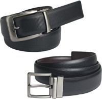 Saugat Traders Boys, Men Casual, Evening, Formal, Party Black, Brown Artificial Leather Reversible Belt Black, Brown