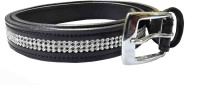 Sterling Germany Women, Girls Casual, Evening, Party Black Genuine Leather Belt Black-01