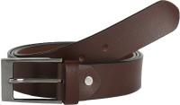 Global Leather Boys, Men, Girls, Women Formal, Casual, Party, Evening Brown Genuine Leather Belt Brown - BELEAJ4SZ6RWVAMR