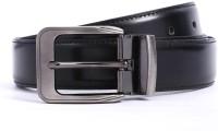 Bluth Men Formal Black Artificial Leather Belt Black - BELE6Y5QSUBHZKG8