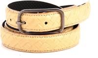 Createawitty Inc Girls, Women Casual Beige Artificial Leather Belt Beige-212 - BELE7GW6A2SDZBDH