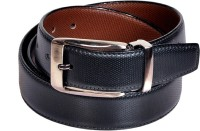 Swan Collection Boys, Men Formal, Casual, Evening Black, Brown Artificial Leather Reversible Belt Black3, Brown3 - BELE7TUH35RGHBZA