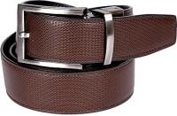 Edinwolf Men, Boys Formal, Party, Casual Black, Brown Genuine Leather Reversible Belt Black & Brown