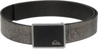 Quiksilver Men Casual Grey Synthetic Belt Grey