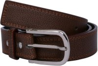Yours Luggage Men, Boys Casual, Evening, Formal, Party Brown Artificial Leather, Genuine Leather, Synthetic Belt Brown