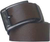 Sondagar Arts Men Casual Brown Genuine Leather Belt Brown