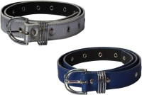 Winsome Deal Women Formal, Casual White, Blue Artificial Leather Belt White, Blue
