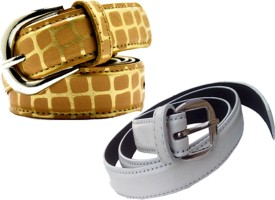 WHOLESOME DEAL Women Casual Multicolor Synthetic Belt
