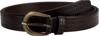 Orkee Women Casual Brown Artificial Leather Belt Brown-09