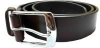Sterling Germany Boys, Men, Women, Girls Casual, Evening, Party, Formal Brown Genuine Leather Belt (Brown-02)
