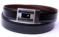 Moac Men Casual Black, Brown Artificial Leather Reversible Belt Black, Brown