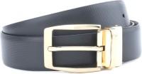 Louis Philippe Men Grey, Brown Reversible Belt Grey/Brown