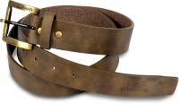 Victoria Secret Men Brown Artificial Leather Belt Dark Brown