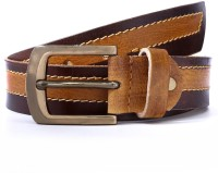 WildHorn Men Casual Multicolor Genuine Leather Belt Brown
