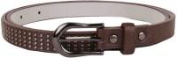Lino Perros Women Casual Brown Artificial Leather Belt B004 - BELEDAQRB67JKFFC