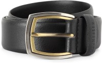 Van Heusen Men Black Genuine Leather Belt Black - BELEE963JZJNXFHK